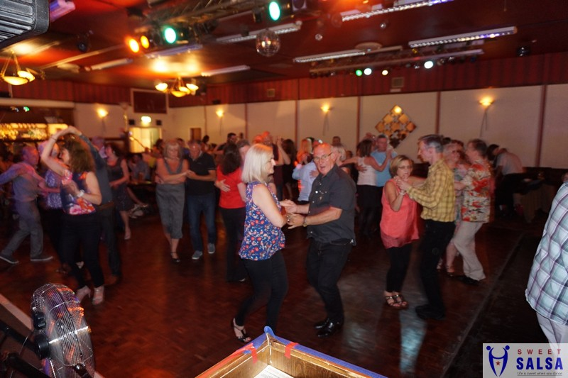 Salsa dancing party at the Canberra Club September 2017