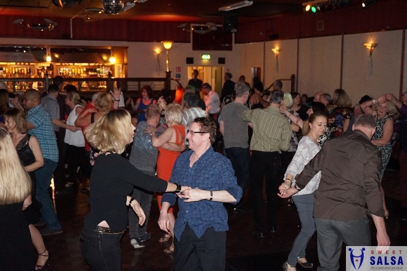 Salsa dancing party at the Canberra Club June 3rd 2017