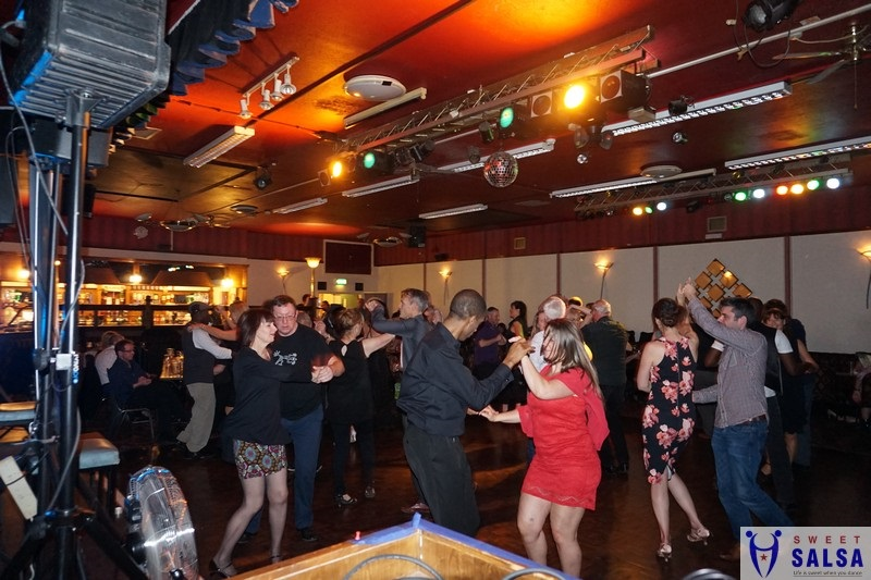 Salsa dancing party at the Canberra Club March 4th 2017