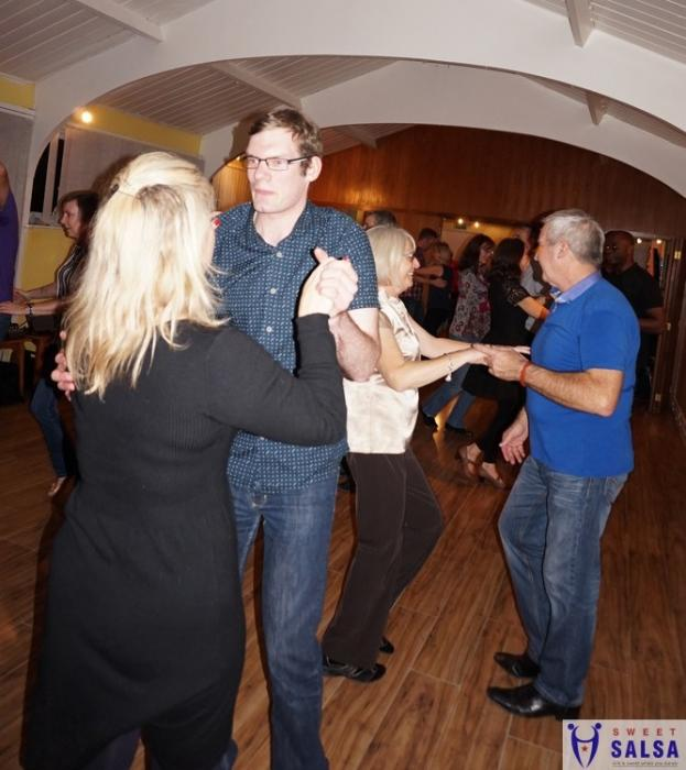 Learning to dance salsa in Fulwood Preston