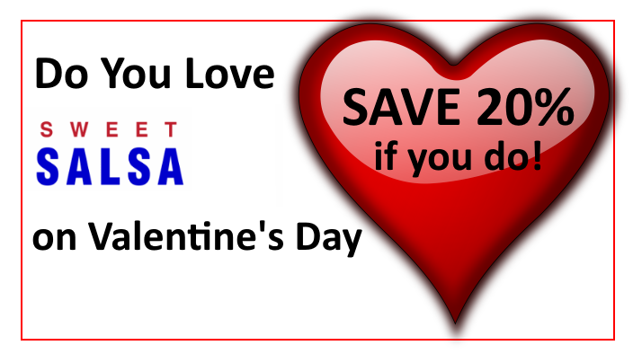 love heart discount valentines day
