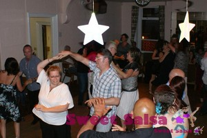 Salsa dancing at Longridge Conservative Club