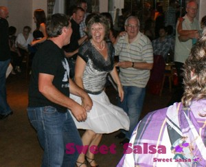August Salsa party in Preston