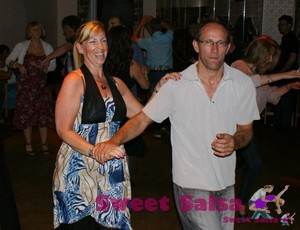 Cuban salsa dancers in Lancashire