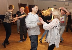 Men required at Clitheroe salsa class