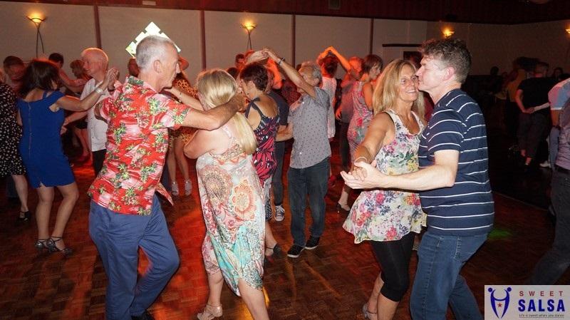 Enjoying the latin dance