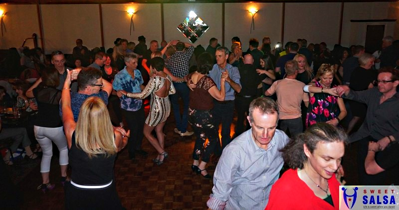 People dancing at The Canberra Club