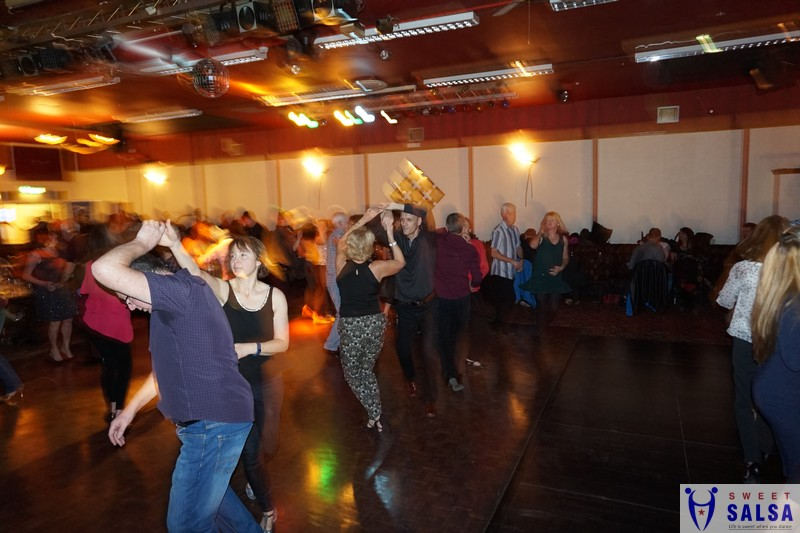 Dancers at Salsa party January 2017