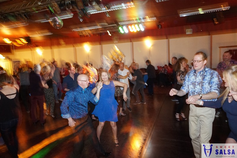 Salsa party January 2017
