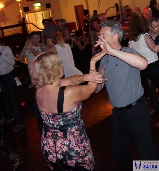 Enjoying the dancing
