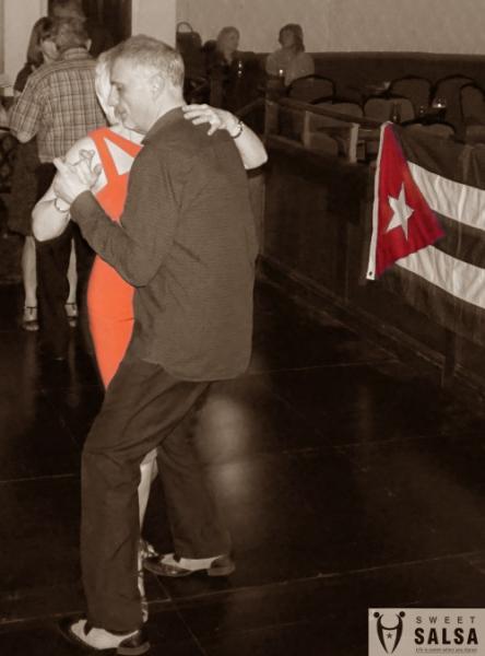 Salsa party dancers March 2017