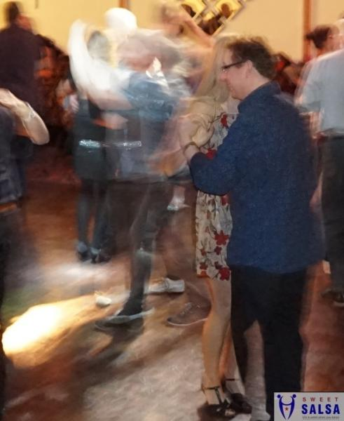 Dancing salsa into the early hours