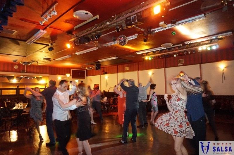 Beautiful salsa dancing