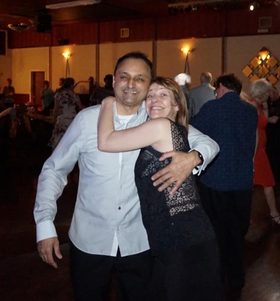 All smiles at Salsa party March 2017