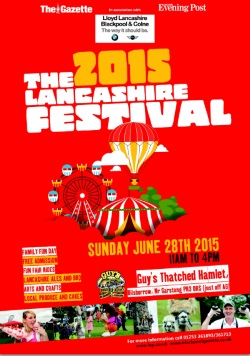 Lancashire Festival at Guy's Thatched Hamlet June 2015