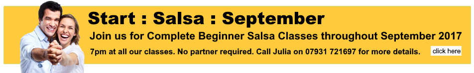 Beginner Salsa Classes in Preston Area September 2017