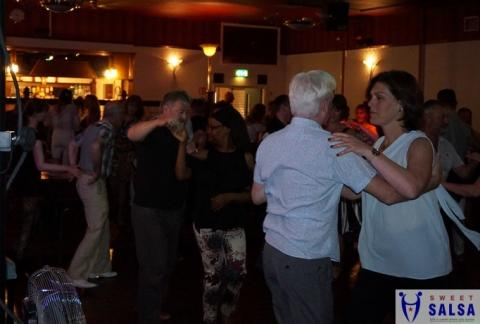 Salsa dancing party at the Canberra Club October 2017