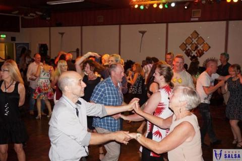 Salsa dancing party at the Canberra Club August 2016