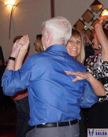 Salsa dancing party at the Canberra Club June 2016