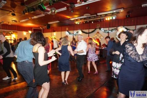 Salsa dancing party at the Canberra Club March 2016