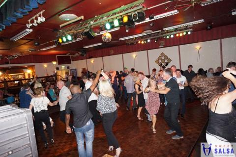 Salsa dancing party at the Canberra Club Sept 2015