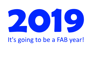 2019 it's going to be a fab year