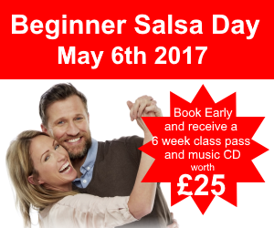 Beginner salsa day May 6th 2017