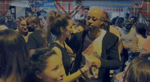 People dancing at Tempo Latino