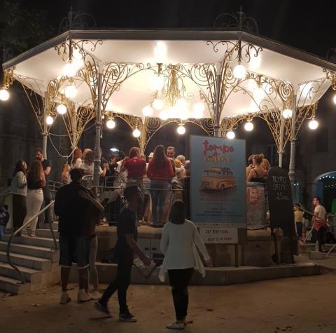Kizomba on the Bandstand