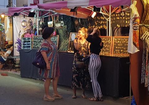 Tempo Latino Arena - the street market