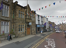 Clitheroe Conservative Club from Castle Street