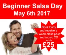Beginner salsa day May 6th 2017