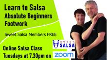 beginners salsa footwork class