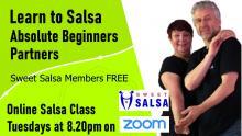 beginner salsa online class zoom
