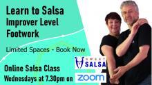 improver salsa online class