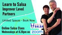improver level online salsa class