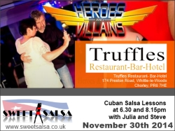 sweet salsa at truffles November 2014